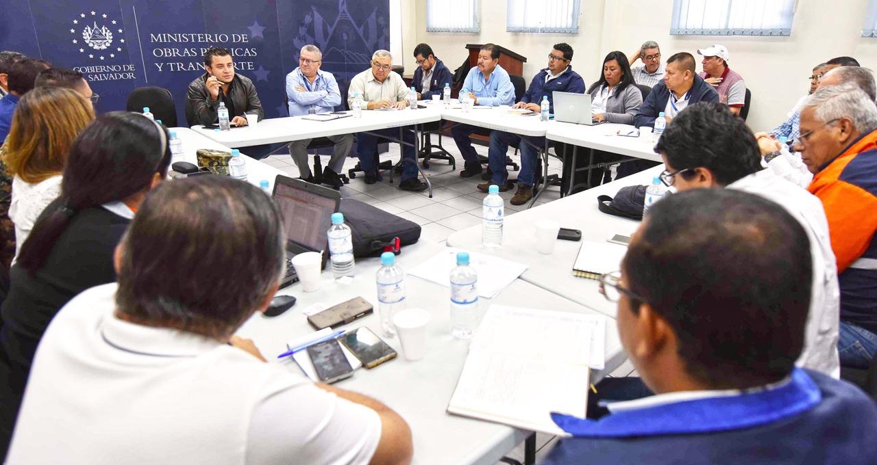 Comisión Técnica de Infraestructura realiza su primera reunión de evaluación de daños posterior a lluvias