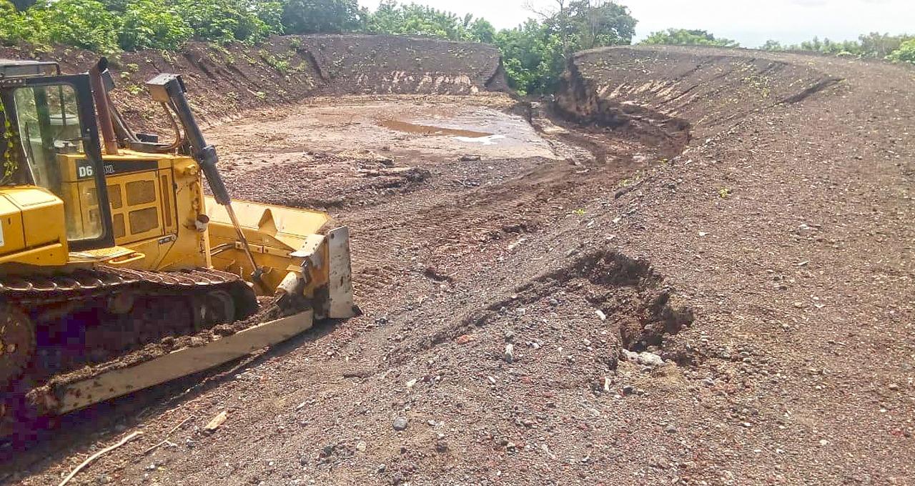 Inspeccionamos funcionamiento de reservorios en Volcán Chaparrastique, San Miguel