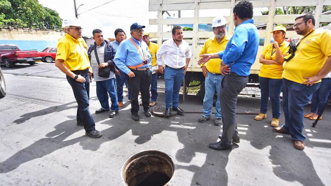 Autoridades realizan nueva inspección de cárcava Santa Lucia, Ilopango