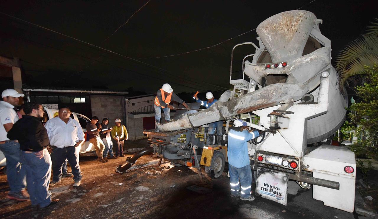 Realizamos obras de mitigación con concreto lanzado en cárcava Santa Lucia para prevenir incremento de daños