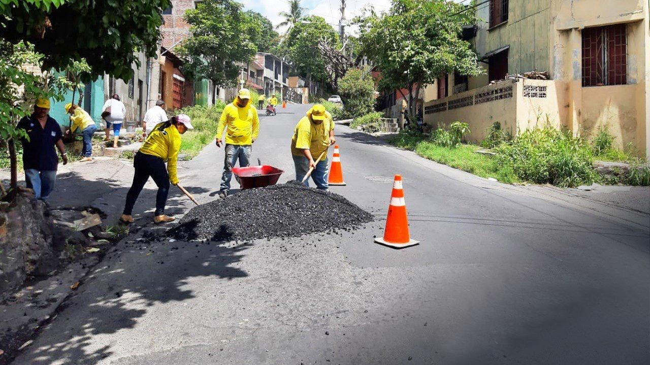 Finalizamos la reparación de 4.2 kilómetros de Calle Lara, San Jacinto
