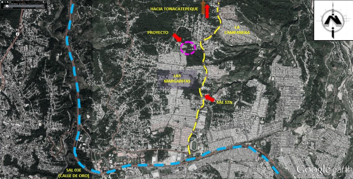Iniciamos el proceso de licitación de obra de protección en cauce de Arenal Seco Aposento, Soyapango