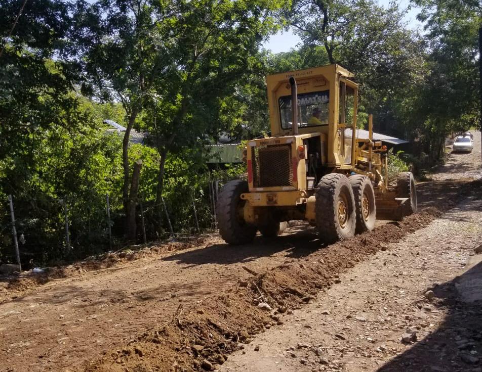 Intervenimos 2.3 kilómetros de importante ruta de Santa Rosa de Lima, La Unión