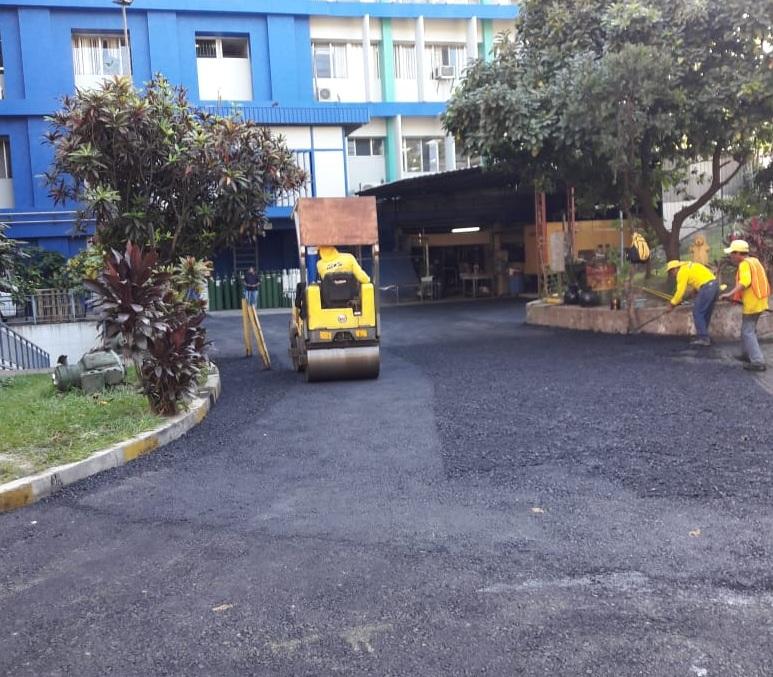 Realizamos obras en apoyo a la red hospitalaria