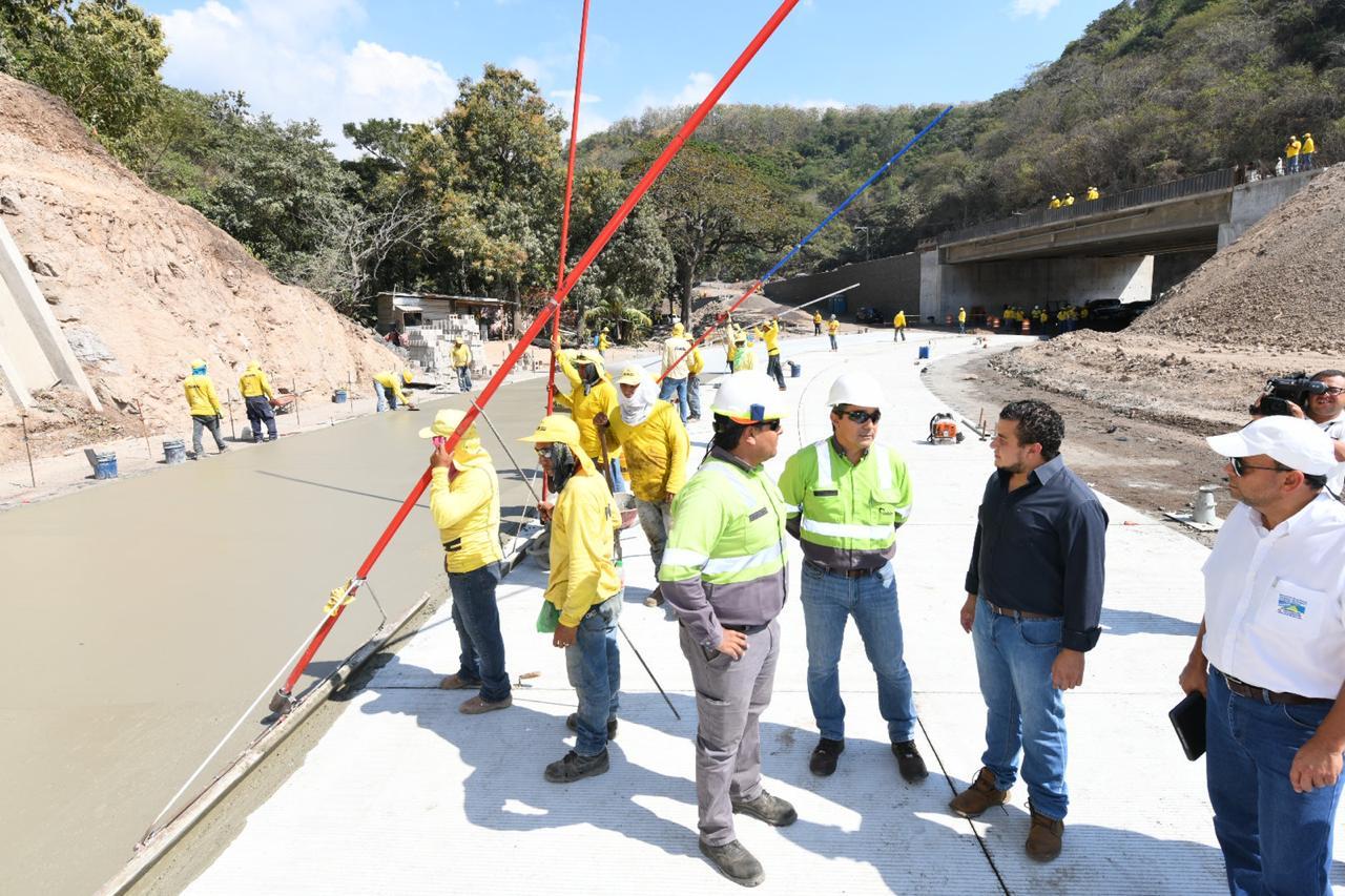 Progresa construcción de segmento 1 y 2 de Bypass de La Libertad