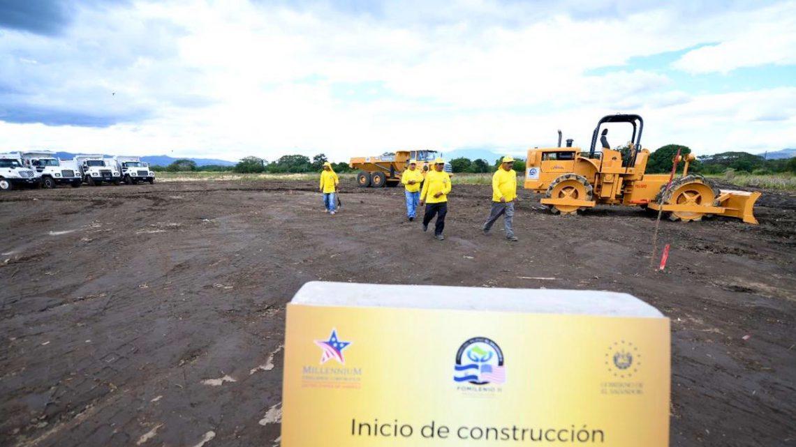 Inician construcción Periférico Claudia Lars, entre carretera a Sonsonate y Santa Ana