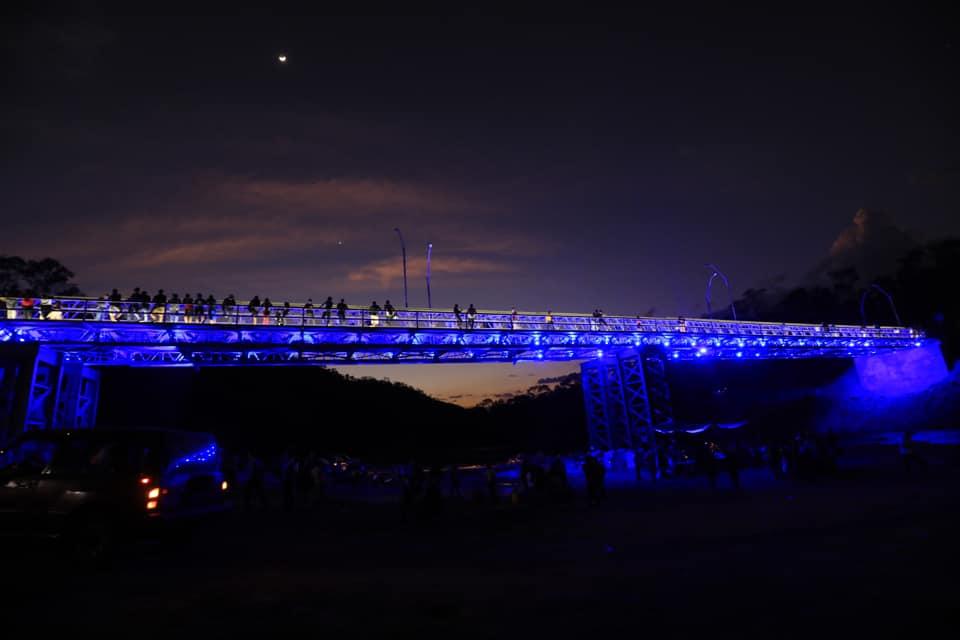 Gobierno cumple a los habitantes de San Isidro y Torola, Morazán con entrega de puente