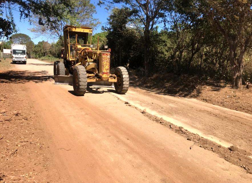 Pavimentamos 7.3 kilómetros de calle Cantón Tierra Blanca, Chirilagua, San Miguel