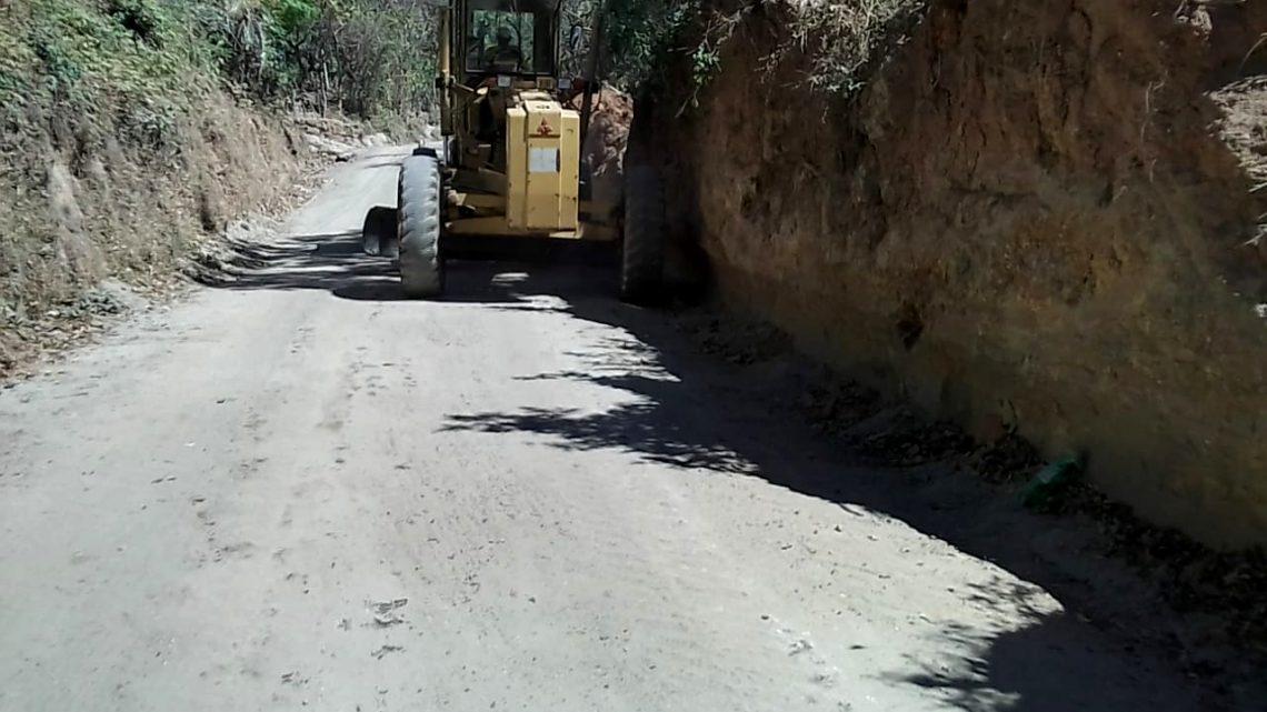 Pavimentamos 500 metros de calle principal Cantón Tehuiste Abajo, San Juan Nonualco, La Paz