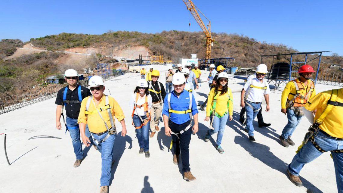Avanza construcción de viaducto dentro Bypass de La Libertad