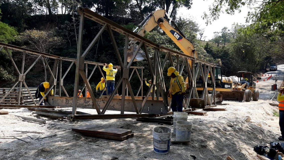Avanza construcción de Puente Guastena, Concepción Quezaltepeque, Chalatenango