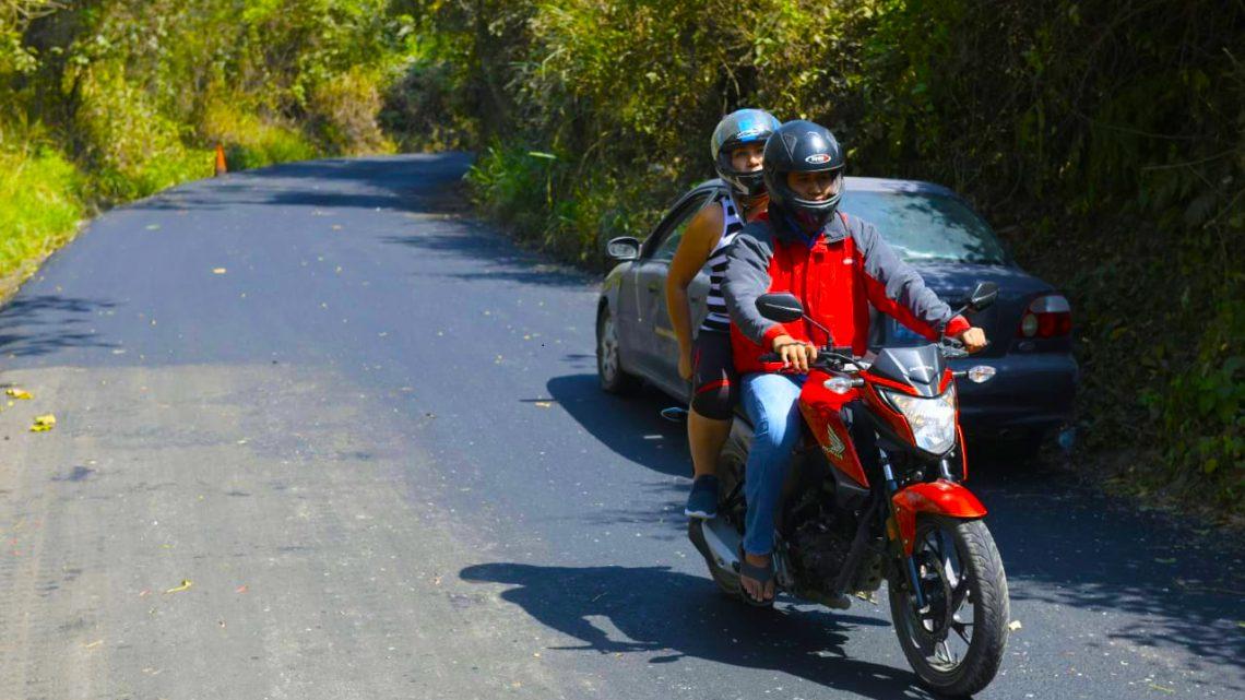 MOP concluye pavimentación de 4.5 kilómetros entre Santiago Texacuangos e Ilopango