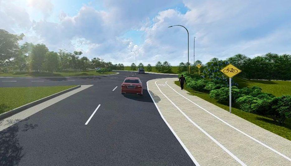 MOP promueve Movilidad Sostenible con construcción de ciclo rutas