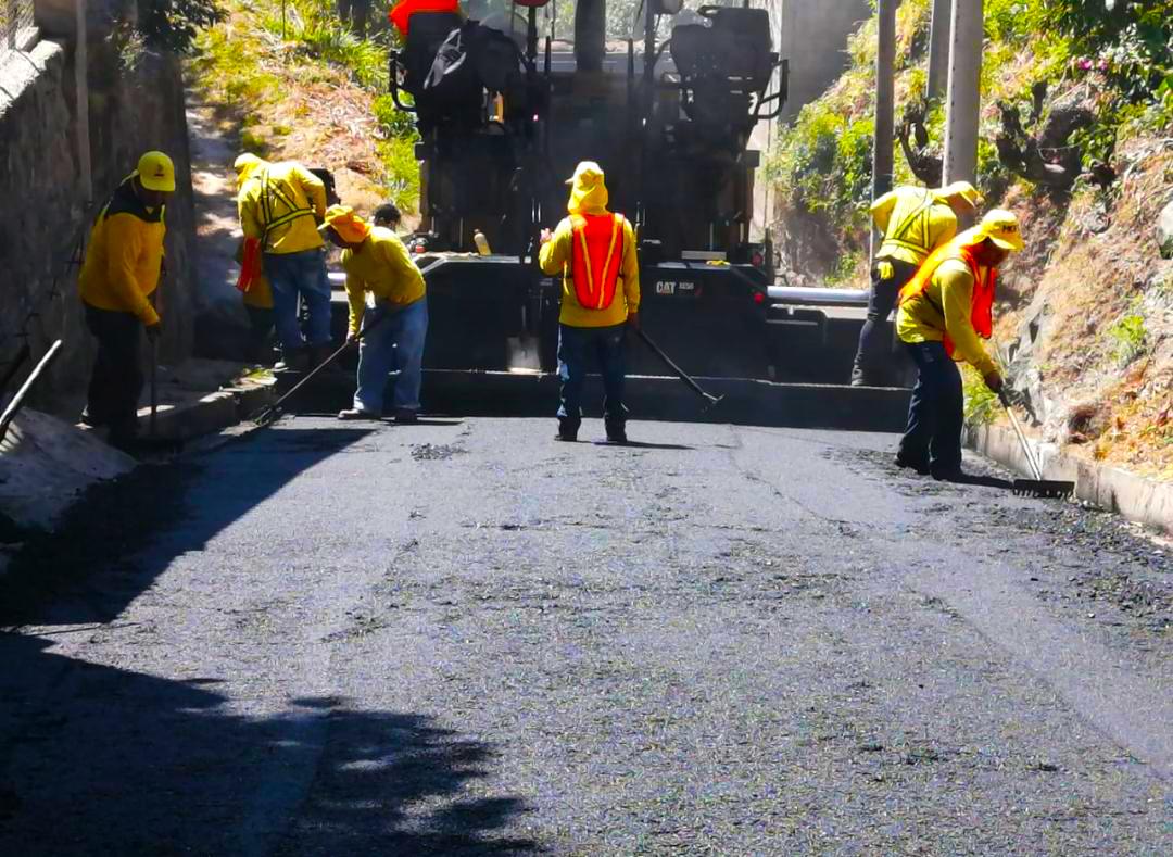 MOP inicia mejoramiento de calle antigua a Panchimalco, San Salvador