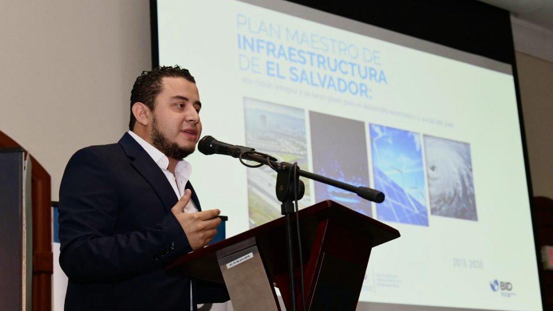 MOP recibe de BID Plan Maestro de Infraestructura de El Salvador