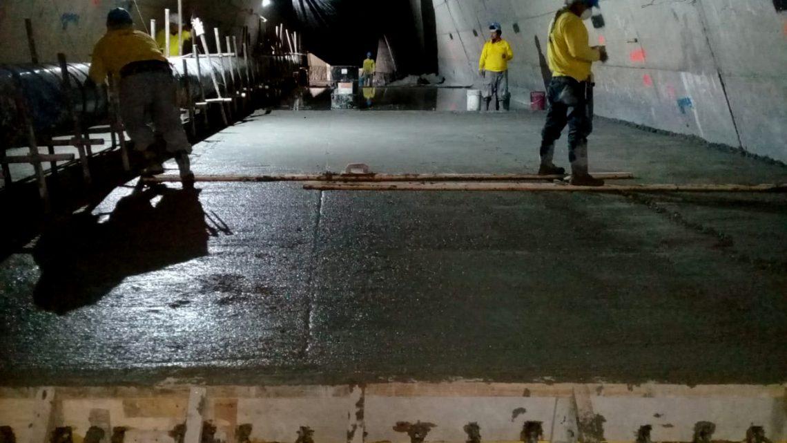 MOP avanza en reconstrucción cama de agua dañada en bóveda Residencial Brisas de San Francisco, San Salvador