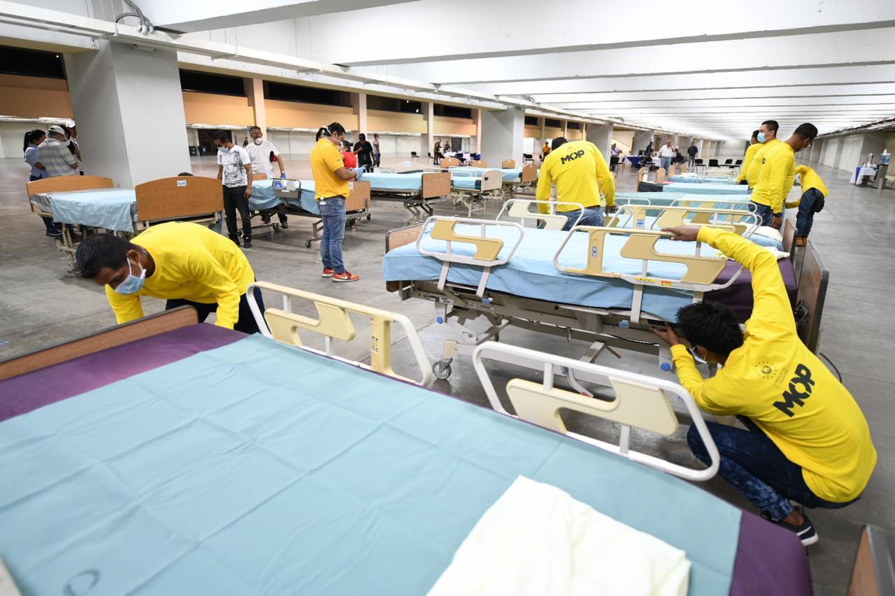 MOP trabaja sin descanso en readecuación de CIFCO para convertirlo en el Hospital más grade de America Latina