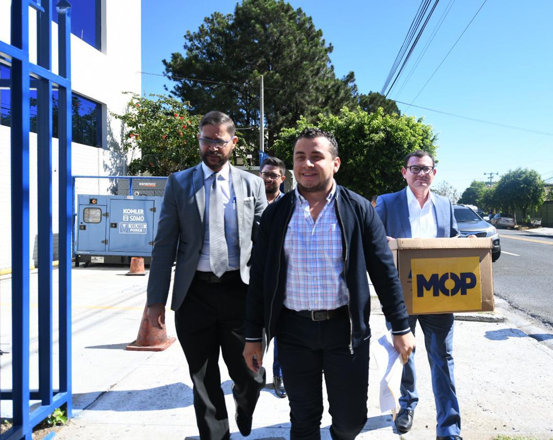 MOP presenta aviso ante Fiscalía General de la República por posibles irregularidades en caso SITRAMSS