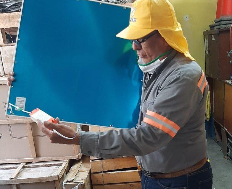 MOP pone a disposición de la Alerta por COVID19 la donación de 59 lámparas LED