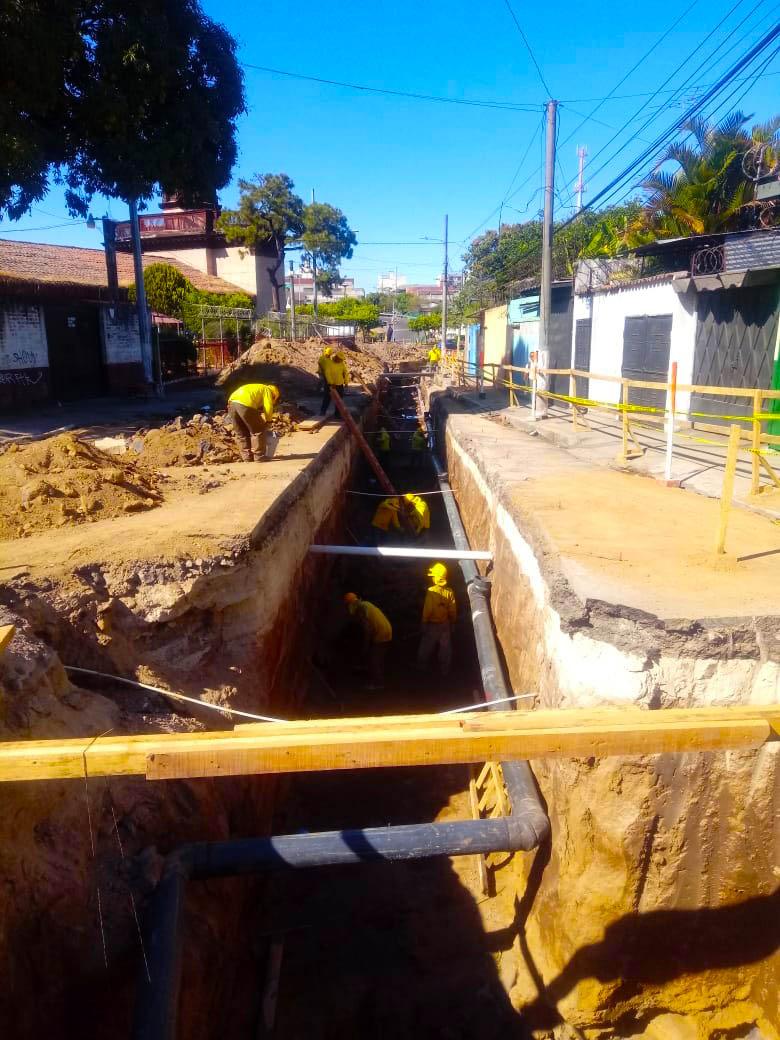 Importantes avances en los Sistemas Urbanos de Drenajes Sostenibles (SUDS) de Merliot y Candelaria