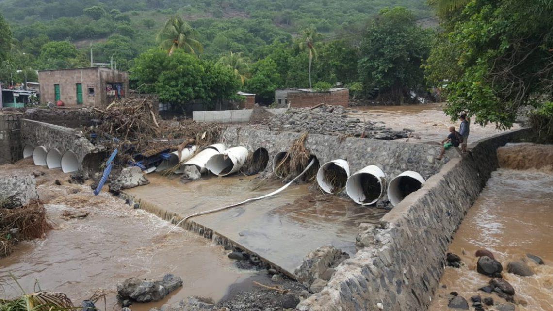 MOP registra ocho puentes entre dañados y colapsados por lluvias