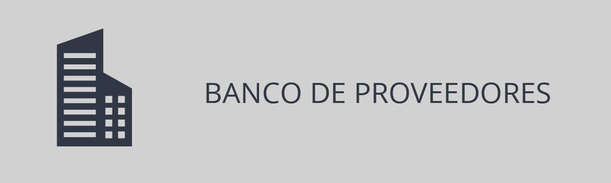 Banco de Proveedores